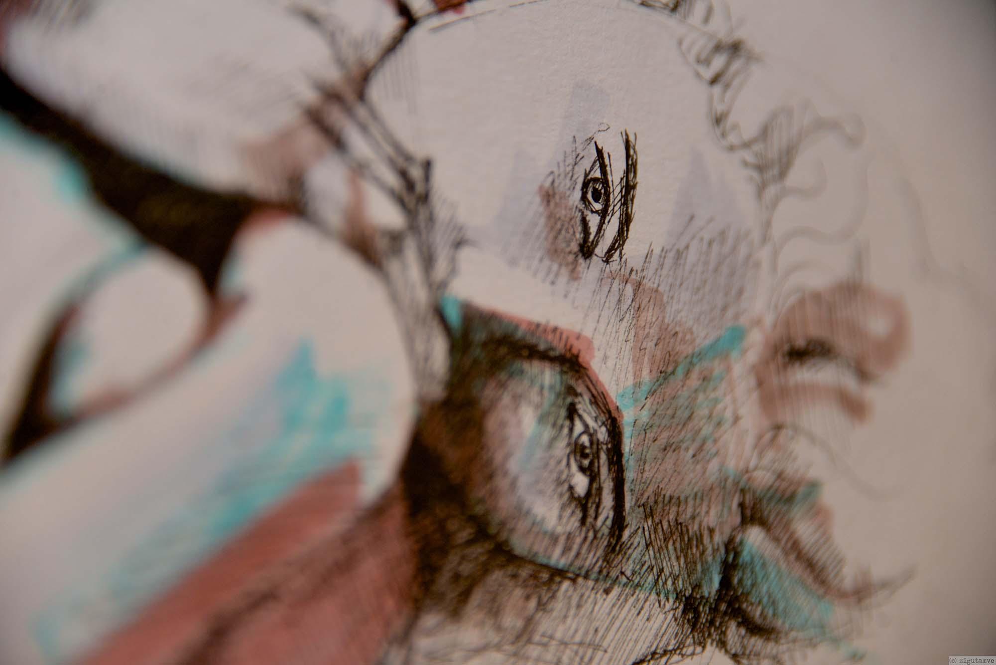 Fragments Of Illusion / Ausstellung von Sára Vizy / 14. Februar 2014