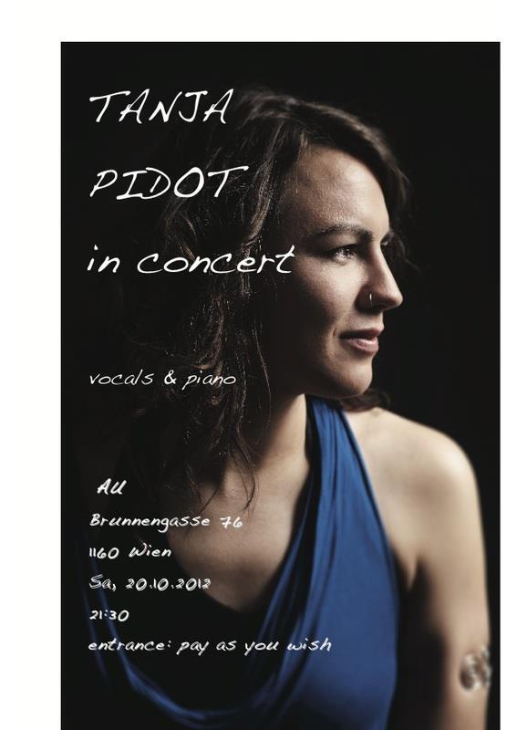 Tanja Pidot / Live / 20. Oktober 2012