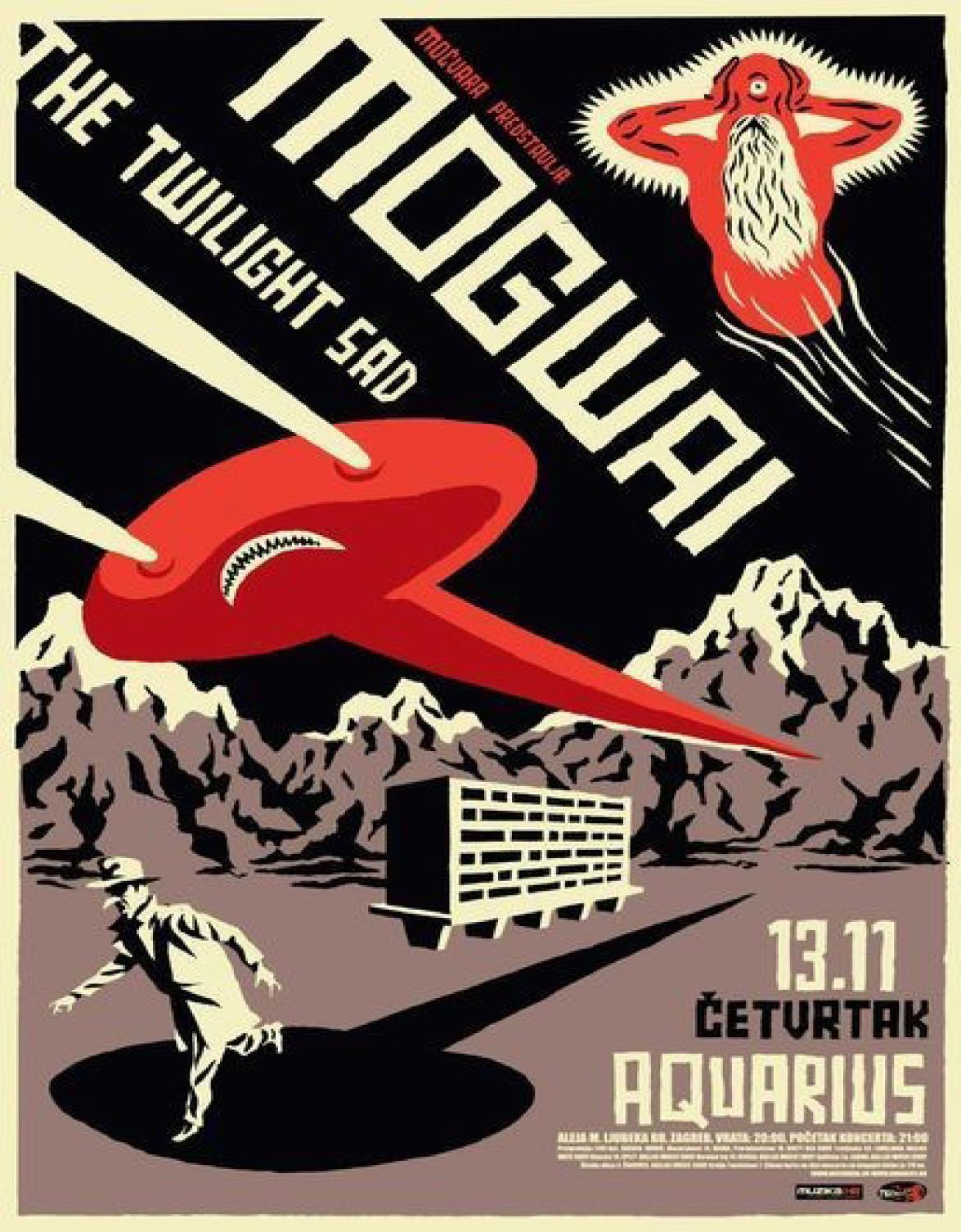 Plakat / Ausstellung von Igor Hofbauer / 7. Dezember 2012
